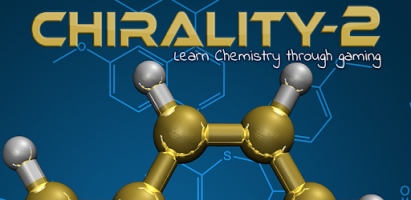 Chirality-2 is a game that aims to teach some fundamental concepts in 1st year University level organic chemistry.
